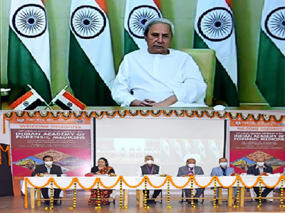 """The 42nd Annual National Conference of the Indian Academy of Forensic Medicine based on the theme of """"Autopsy Management of Infectious Bodies"""" was inaugurated by the Hon'ble CM of Odisha Sjt. Naveen Patnaik and was successfully conducted at SCBMCH on 23rd-24th January 2021."""