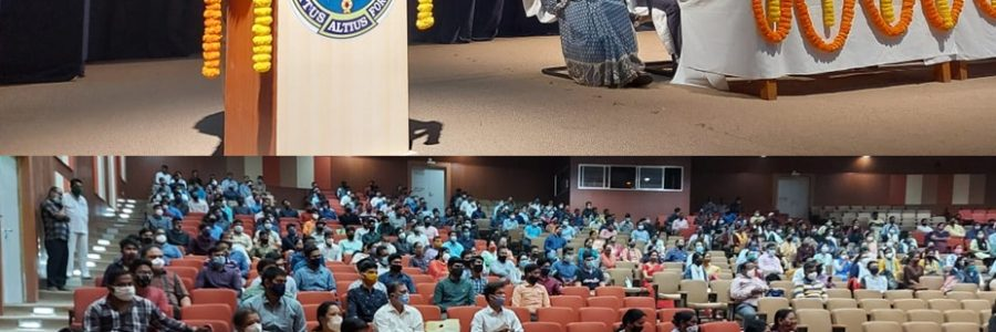 Foundational course and orientation program of the freshers batch held between15th-26th Feb, 2021